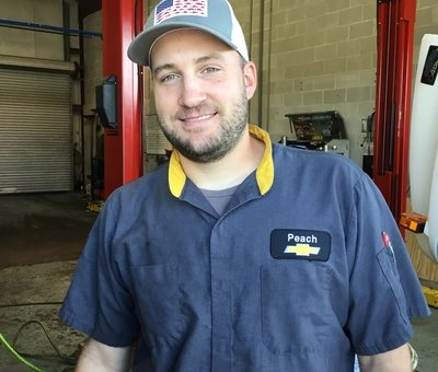 Certified Service Technician Ethan Thomas in Technicians at Peach Chevrolet Buick GMC