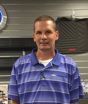 Parts Consultant Danny Moye in Parts at Peach Chevrolet Buick GMC