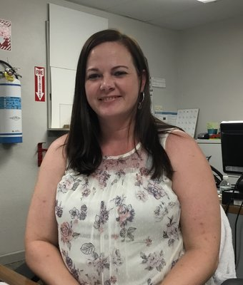 Warranty Specialist Amanda Jernigan in Administration at Peach Chevrolet Buick GMC