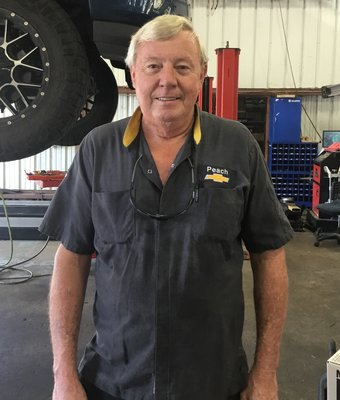 Certified Service Technician Terry Barlow in Technicians at Peach Chevrolet Buick GMC