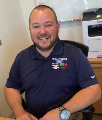 Sales Manager Ace Bush in Sales at Peach Ford