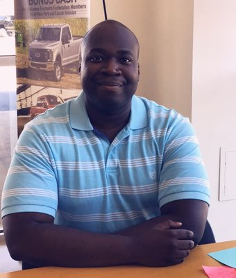 Sales Professional Reginald Marshall in Sales at Peach Ford