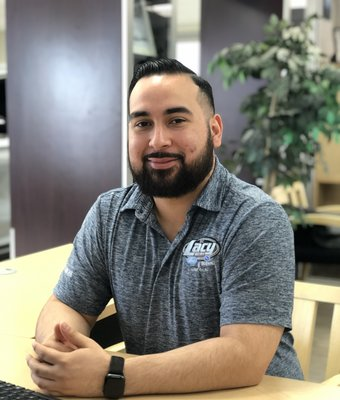Sales & Leasing Consultant Juan Molina in Sales at RC Lacy Ford Lincoln Subaru