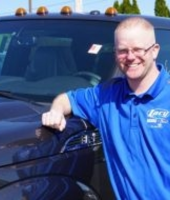 Ford Parts Specialist Jason Bishop in Parts at RC Lacy Ford Lincoln Subaru
