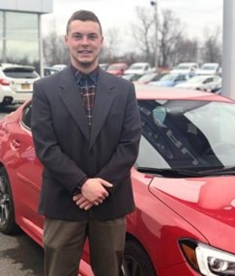 Sales & Leasing Consultant Travis Herrick in Sales at RC Lacy Ford Lincoln Subaru