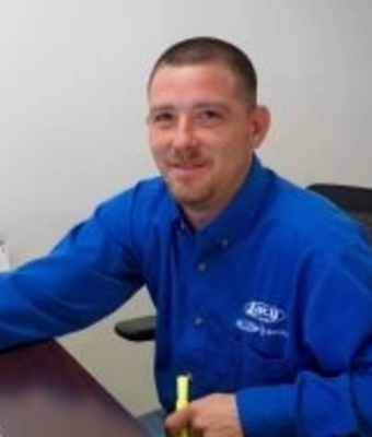 Service Advisor Brian Keator in Service at RC Lacy Ford Lincoln Subaru