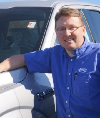 Ford Parts Manager Marc Cramer in Parts at RC Lacy Ford Lincoln Subaru