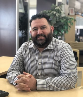 Pre-Owned Manager Jared Giordiano in Sales at RC Lacy Ford Lincoln Subaru