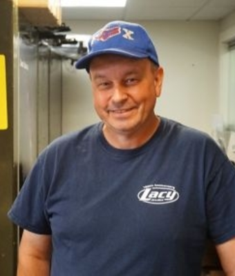 Subaru Parts Specialist Erik Carlson in Parts at RC Lacy Ford Lincoln Subaru