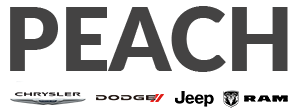 Peach Chrysler Dodge Jeep Ram Logo Main