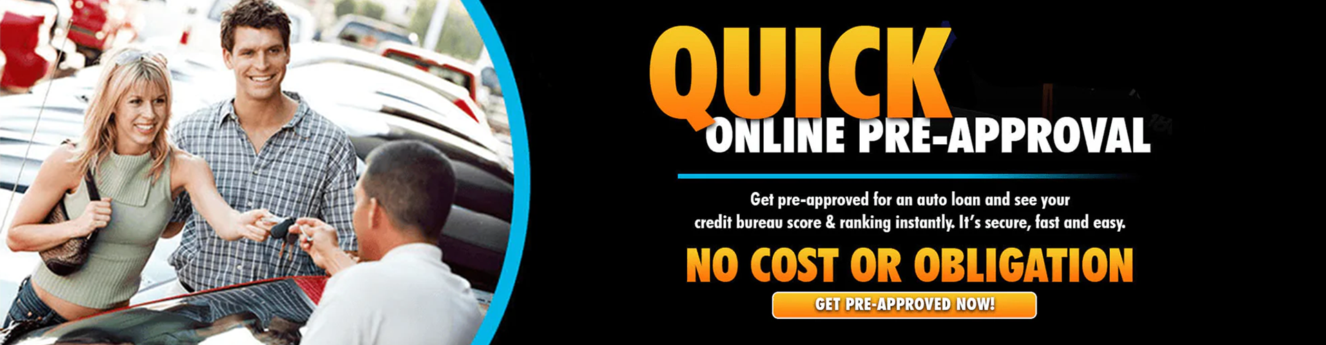 The Taylor Automotive Family Quick Online Pre-Approval