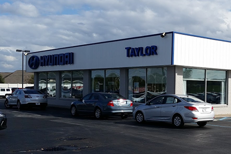 The Taylor Automotive Family Findlay Hyundai  Location