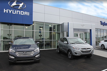 The Taylor Automotive Family Toledo Hyundai Location