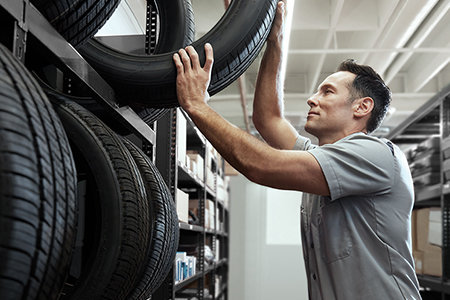 PURCHASE FOUR SELECT GOODYEAR OR KELLY TIRES, RECEIVE UP TO A $100 REBATE BY MAIL*
