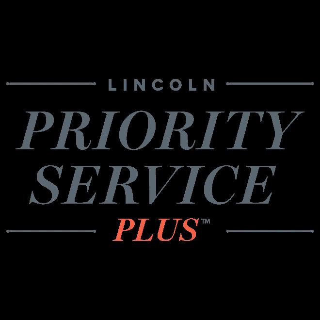lincoln priority service plus