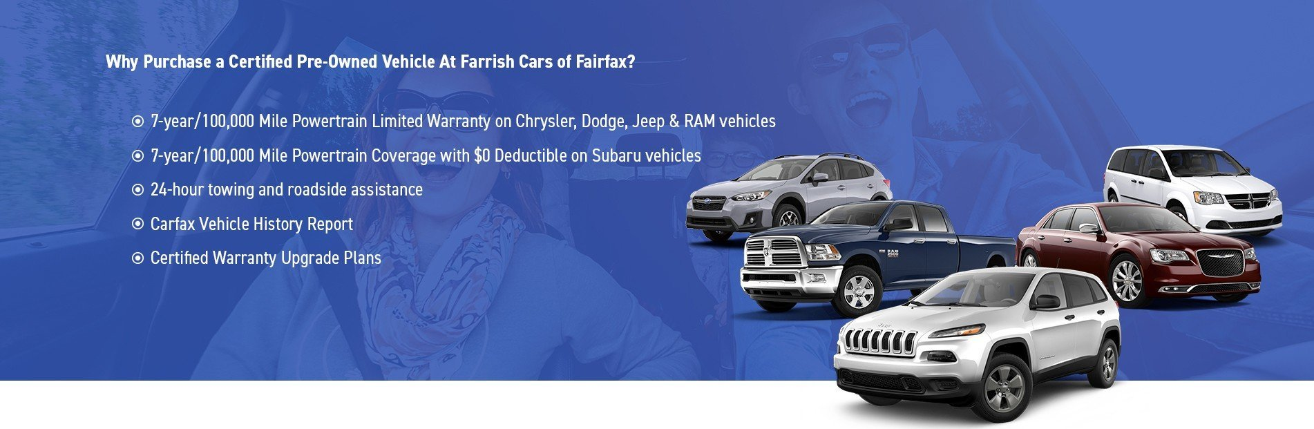 Why Purchase a Certified Pre-Owned Vehicle At Farrish Cars of Fairfax?