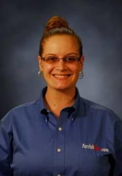 Subaru Service Advisor Rachel Adams in Service at Farrish of Fairfax