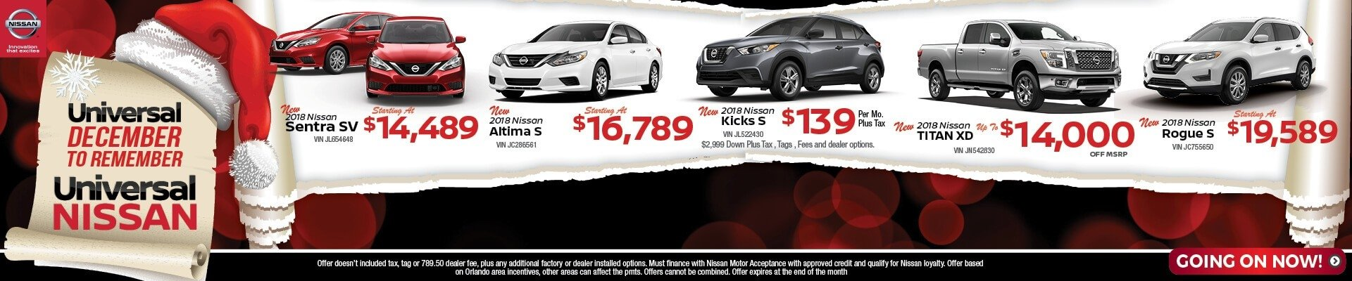 Universal Nissan Special Offers