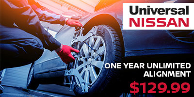 Coupon for One Year Unlimited Alignment Unlimited alignments for 1 year