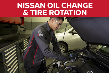 Coupon for Nissan Oil Change and Tire Rotation $10 Off Oil Change and Tire Rotation