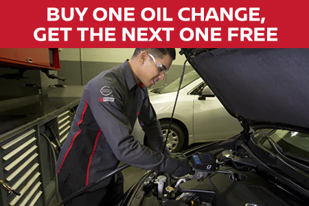 Coupon for Buy One Oil Change, Get the Next One FREE