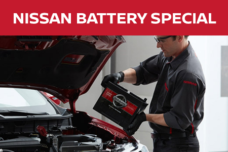 Coupon for Nissan Battery Special $20 Off Nissan Lifetime Battery