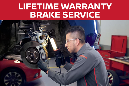 Coupon for Our Best Lifetime Warranty Brake Service Rotor Resurface $319.95 - Without Rotor Service $279.95