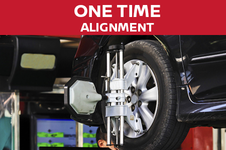 Coupon for One Time Alignment