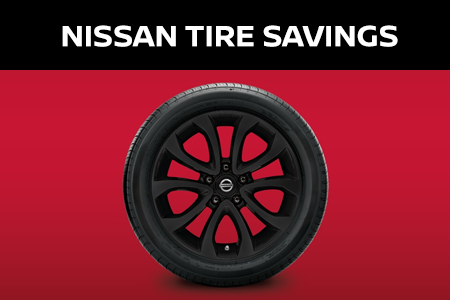 Coupon for Nissan Tire Savings Buy 3 Tires, Get one Free