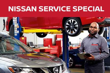 Coupon for Nissan Service Special 10% Off any recommended service