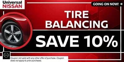 Coupon for Tire Balancing