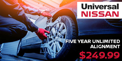 Coupon for Five Year Unlimited Alignment Unlimited Alignment for 5 Years