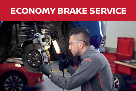 Coupon for Economy Brake Service Rotor Resurface $189.95 – without Rotor Service $139.95