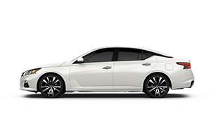all new 2019 white altima platinum