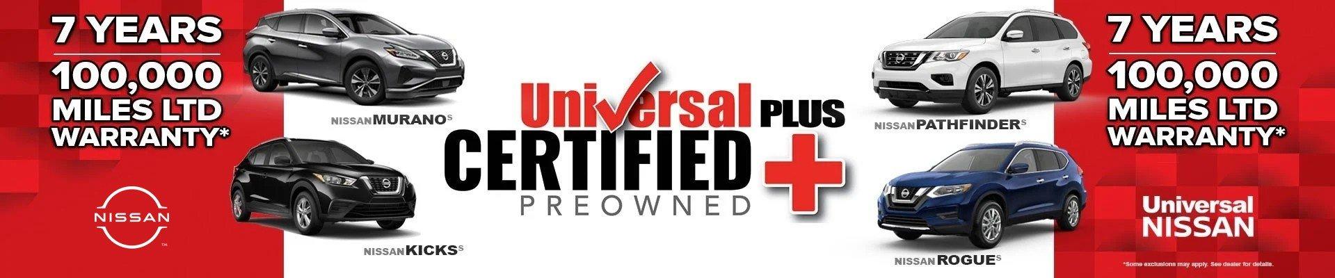 Universal Nissan CPO