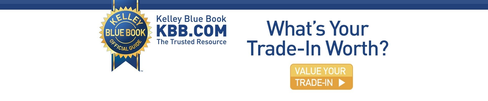 kelley blue book trade-in value