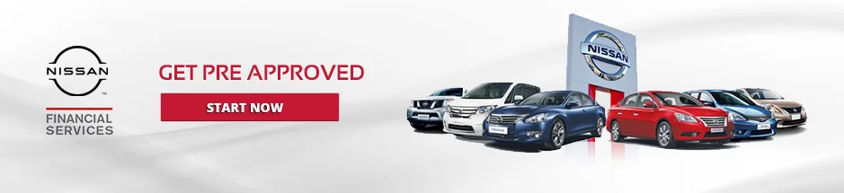 get pre-approved with nissan financial services