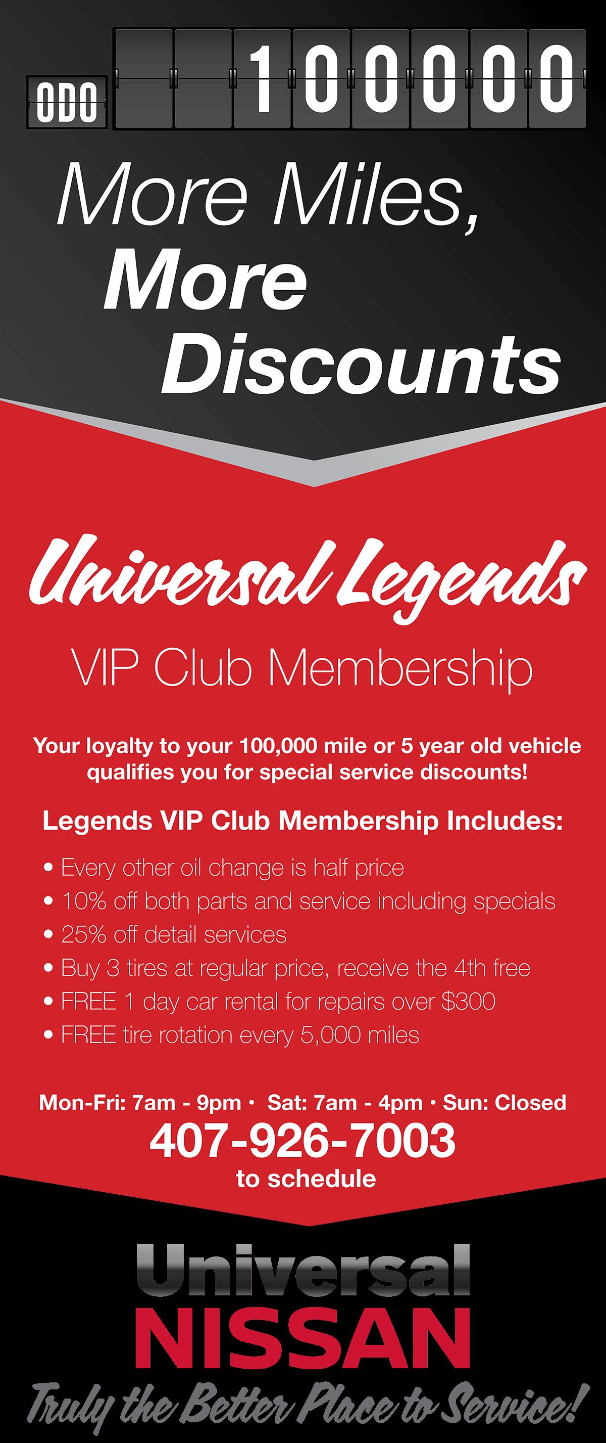 VIP Club Membership