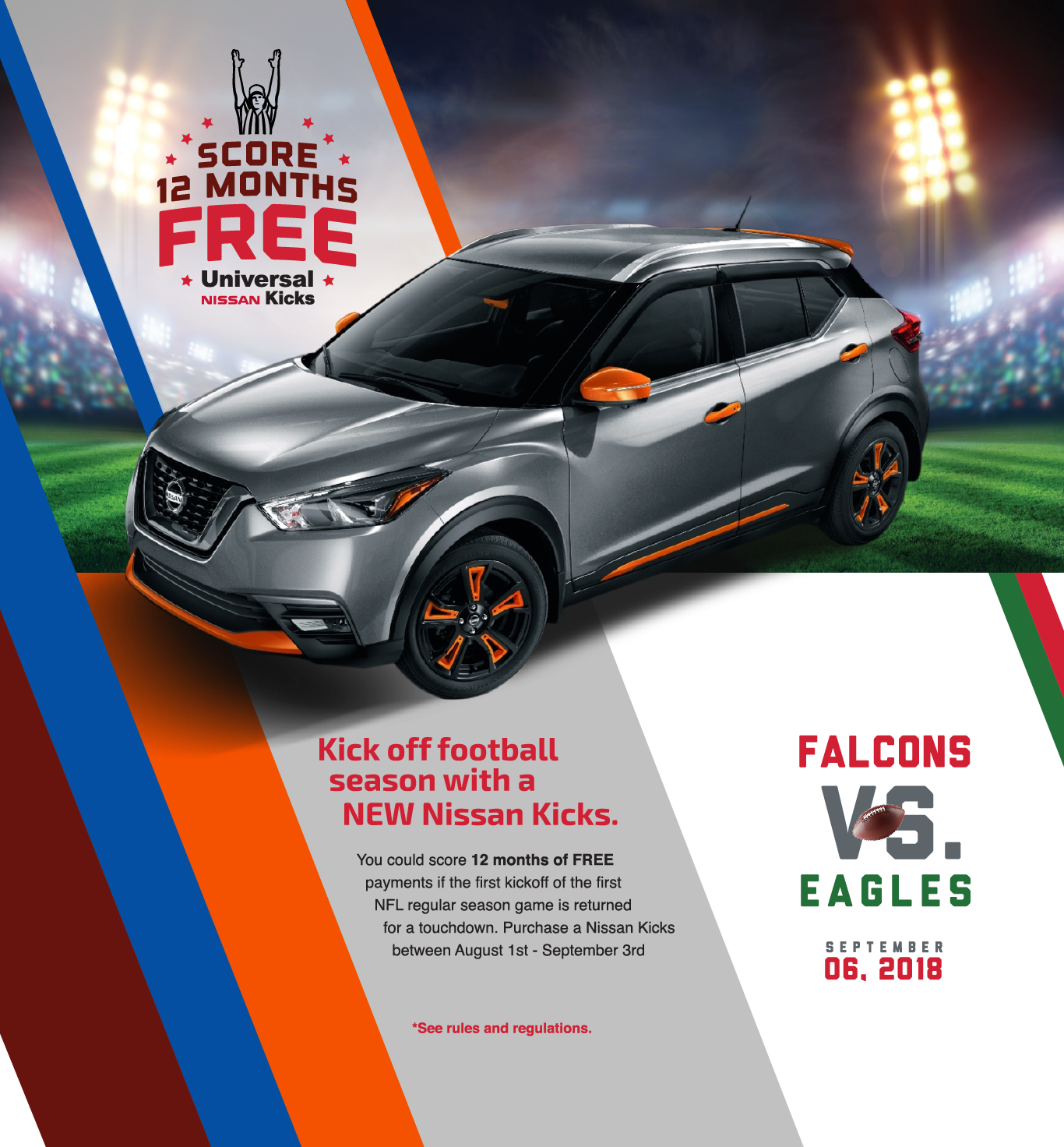 Nissan Kicks Promo Hero