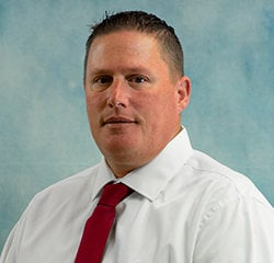 Fleet Manager Mike Metcalfe in Sales at Universal Nissan