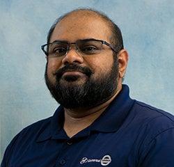 Service Advisor Himanshu Patel in Service at Universal Nissan