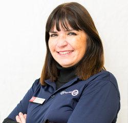 Service Advisor Christina Luna in Service at Universal Nissan