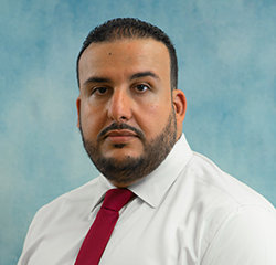 Desk Manager Simo Hamdouch in Management at Universal Nissan