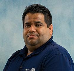 Service Advisor Jorge Prada in Service at Universal Nissan