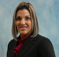 Service and Parts Director Becca Kroeger in Service at Universal Nissan