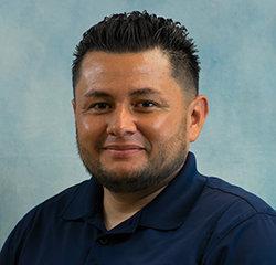 Service Advisor Jorge Macias in Service at Universal Nissan