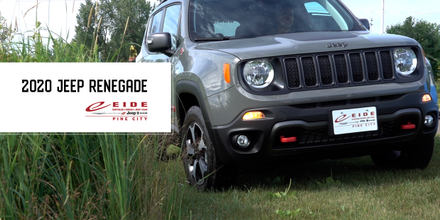 The Jeep Renegade at Eide Chrysler