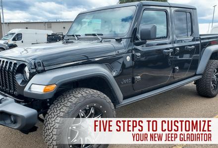 New Jeep Gladiator in Pine City, Minnesota