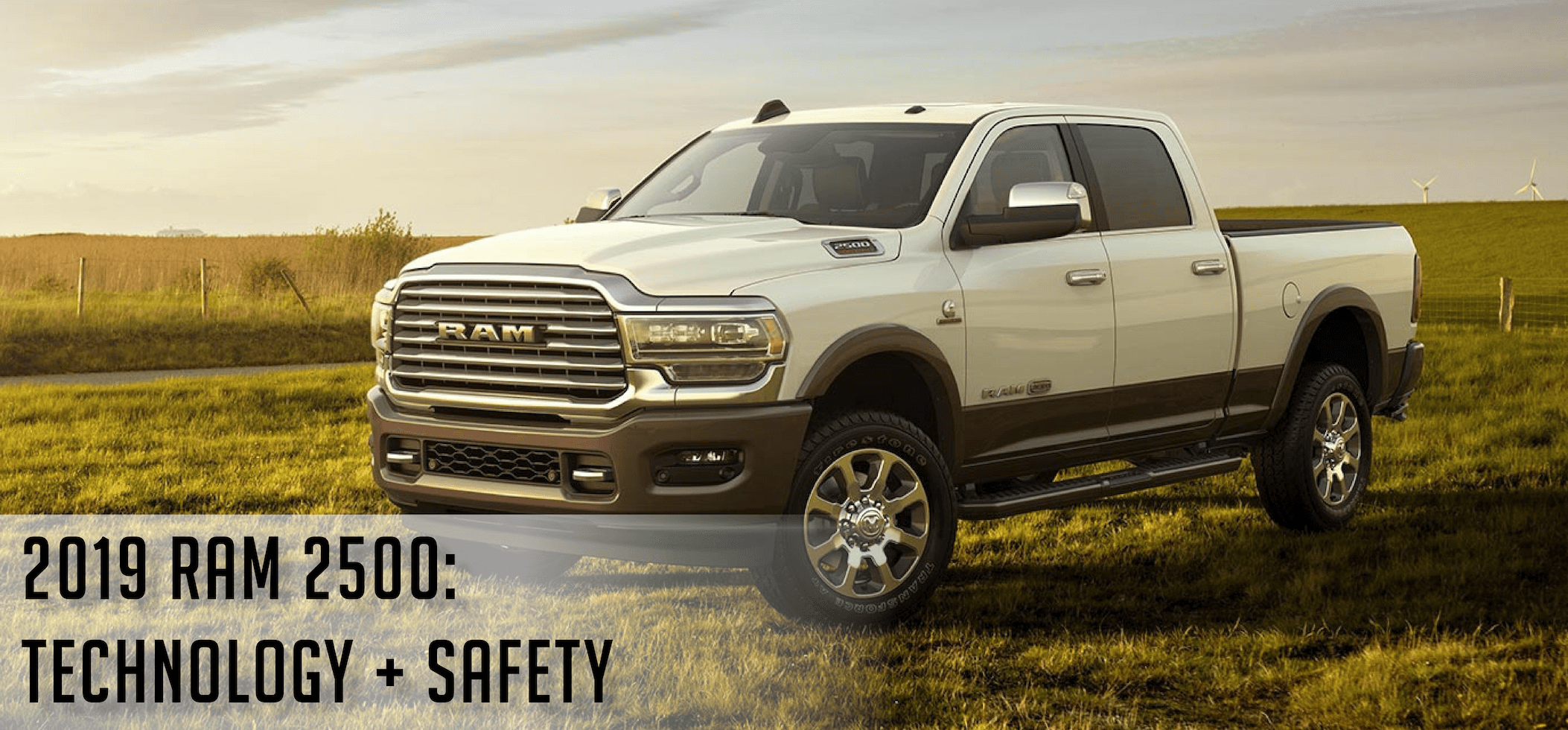 Technology and Safety of the 2019 RAM 2500 in Pine City