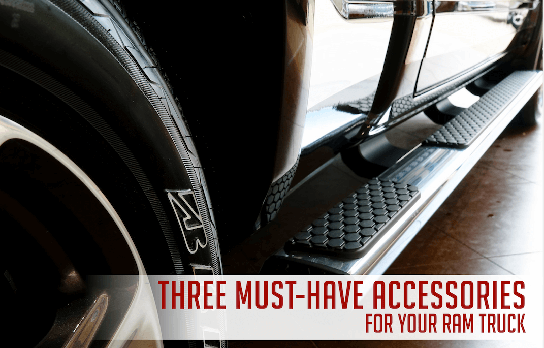 Three must-have accessories for your RAM truck